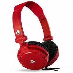 4Gamers Gaming Headset PRO4-10 Red – PS4