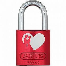 ABUS 72/40 rot Love Lock