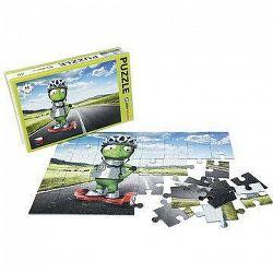 Alza Puzzle 40 dielikov – Mimozemšťan Alza na Gyroboarde