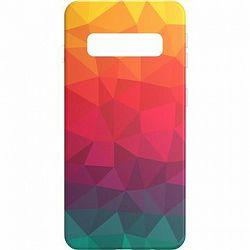 AlzaGuard Samsung Galaxy S10 Rainbow Geometry Madness