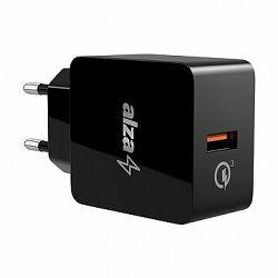 AlzaPower Q100 Quick Charge 3.0 černá