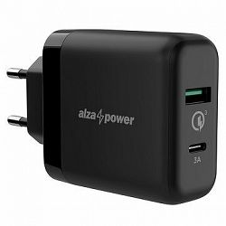 AlzaPower Q200C Quick Charge 3.0 černá