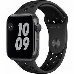 Apple Watch Nike Series 6 44 mm Vesmírne sivý hliník s antracitovým/čiernym športovým remienkom Nike