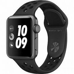 Apple Watch Series 3 Nike+ 38 mm GPS Vesmírne šedý hliník s antracitovým športovým remienkom Nike