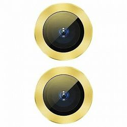 Baseus Alloy Protection Ring Lens Film for iPhone 11 Yellow