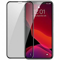 Baseus Full-Screen Curved Privacy Tempered Glass pre iPhone X/XS/11 Pro Black