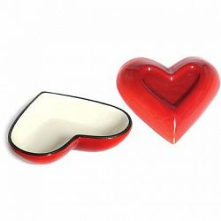 BELIS liatinová forma srdce 15 cm 0,13 l Queen Line