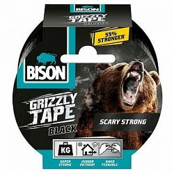 BISON GRIZZLY TAPE 10 m čierna