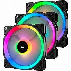 Corsair LL120 RGB LED 120 mm Dual Light Loop PWM x3