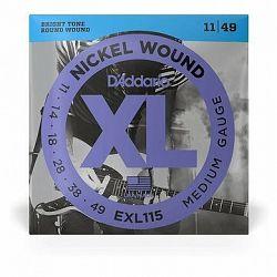 Daddario EXL115 Blues/Jazz Rock - .011 - .049