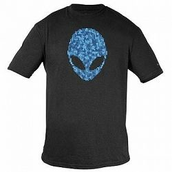 Dell Alienware Alien Ultramodern Puzzle Head Gaming Gear T-Shirt