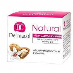 DERMACOL Natural mandľový nočný krém 50 ml