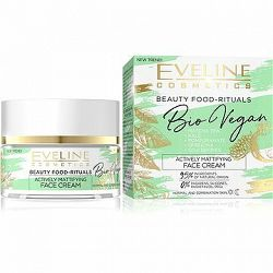 EVELINE COSMETICS Bio Vegan Actively Mattifying Day And Night Face Cream 50 ml