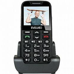 EVOLVEO EasyPhone XD čierno-strieborný