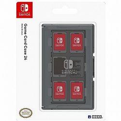 Hori Game Card Case 24 Black - Nintendo Switch