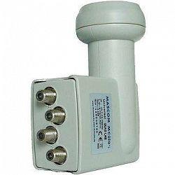 Mascom MCQS02HD Quad LNB 0,2 dB