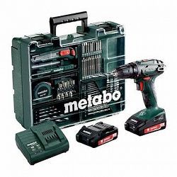 Metabo BS 18Li mobilná dielňa, 2 akumulátory