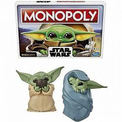 Monopoly Star Wars The Mandalorian The Child CZ verzia + Star Wars Baby Yoda figúrka 2-balenie A