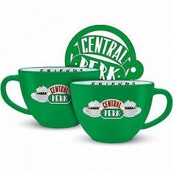 Priatelia Central Perk – hrnček zelený