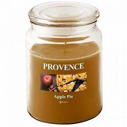 Provence Sviečka v skle s vekom 510 g, Jablčný závin