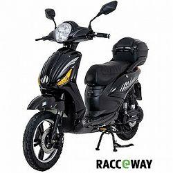 Racceray E-Moped, 20 Ah, čierny-lesklý