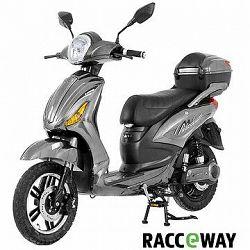 Racceray E-Moped, 20 Ah, sivý-lesklý
