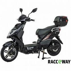 Racceway E-Fichtl, 12 Ah, čierny-lesklý