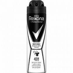 REXONA MEN Invisible On Black+White Clothes 150 ml