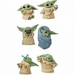 Star Wars Baby Yoda figúrka 2-balenie A + Baby Yoda figúrka 2-balenie B + Baby Yoda figúrka 2-balenie C