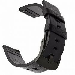 Tactical Kožený remienok pre Garmin Vivoactive 3 Black (EU Blister)