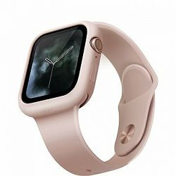 Uniq Lino pre Apple Watch 44 mm Blush ružový