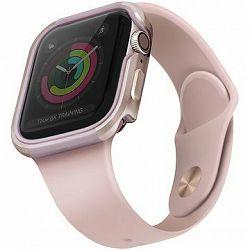 Uniq Valencia pre Apple Watch 44 mm Blush Gold ružový