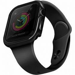 Uniq Valencia pre Apple Watch 44 mm Blush Gunmetal sivý