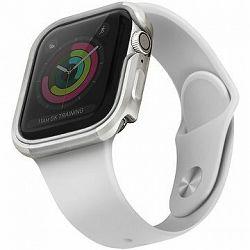 Uniq Valencia pre Apple Watch 44 mm Blush Titanium strieborný